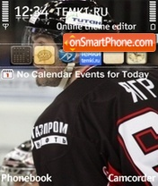 Jaromir Jagr theme screenshot