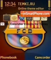 FC Barcelona 02 theme screenshot