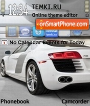 Audi R8 11 theme screenshot