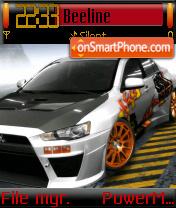 Mitsubishi 02 theme screenshot