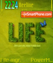 Life 04 theme screenshot