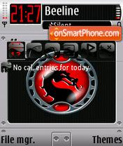 Emboss theme screenshot