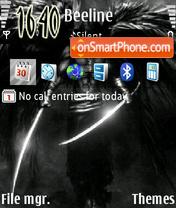 Angel Warrior theme screenshot
