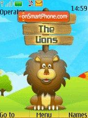 Save The Lions es el tema de pantalla