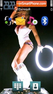 Geri Halliwell 01 theme screenshot