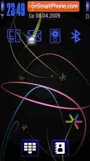 S60 Blue tema screenshot