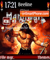Manowar 03 theme screenshot