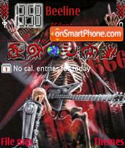 Death Metal es el tema de pantalla