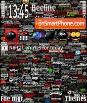 Ultimate Metal collage of Doom es el tema de pantalla