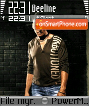 Akshay Kumar theme screenshot