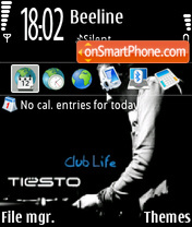 Club life 01 tema screenshot
