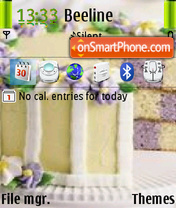 Nice Cake theme screenshot