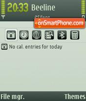Deviant Art theme screenshot