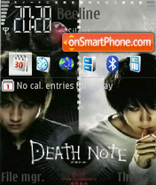 Death Note 05 theme screenshot