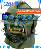 Monster es el tema de pantalla