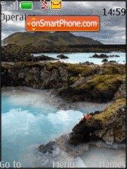 Iceland theme screenshot