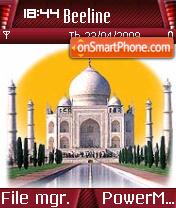 Taj Mahal 02 es el tema de pantalla
