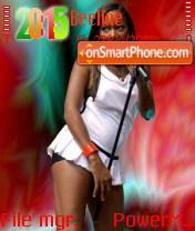 Jamelia 01 theme screenshot