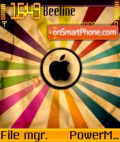 Apple Abstract theme screenshot
