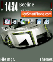 Honda Concept theme screenshot