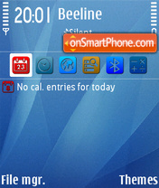 Mac os FP1 theme screenshot