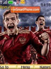 Russia Team theme screenshot