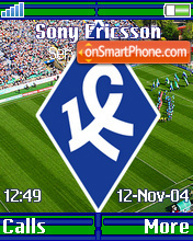 FC Krilya Sovetov theme screenshot