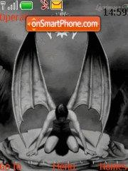 Angel Lacrimosa theme screenshot