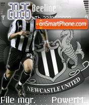 Newcastle Theme theme screenshot
