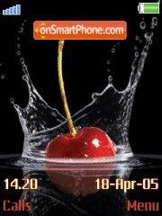 Cherries es el tema de pantalla