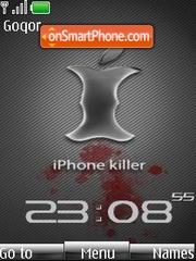 Capture d'écran iPhone Killer Clock thème