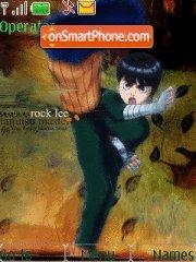 Rock Lee 01 theme screenshot