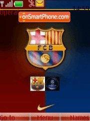 Barcelona Fc 01 es el tema de pantalla