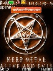 Keep Metal es el tema de pantalla
