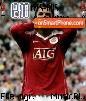 Ronaldo Brazil theme screenshot