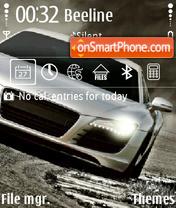 Audi R8 12 es el tema de pantalla