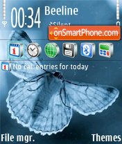Butterfly 141 theme screenshot