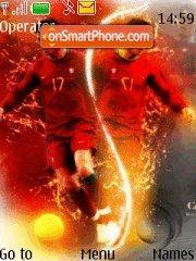 Cristiano Ronaldo es el tema de pantalla
