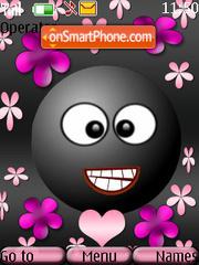 Cute Smiley es el tema de pantalla