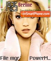 Britney Spears 16 theme screenshot