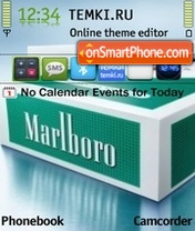 Marlboro 03 theme screenshot