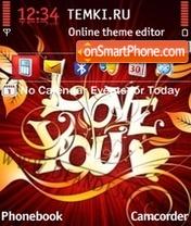 Love You 06 es el tema de pantalla