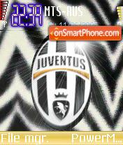 2004 Juventus FC theme screenshot