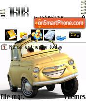 Cars es el tema de pantalla