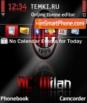 AC Milan 12 es el tema de pantalla