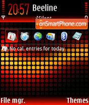 Lava 01 theme screenshot