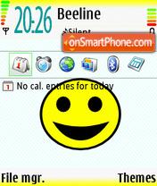 Smile 06 es el tema de pantalla