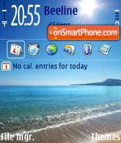 Beach Blaze V2 es el tema de pantalla