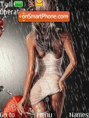 Girl in Rain es el tema de pantalla