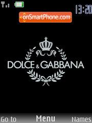 Dolce & Gabbana Theme-Screenshot